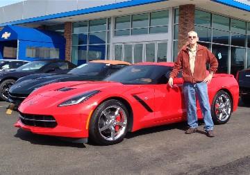 red 2014 Corvette