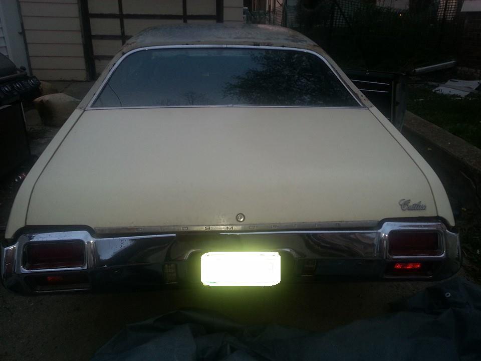 1971 Cutlass S