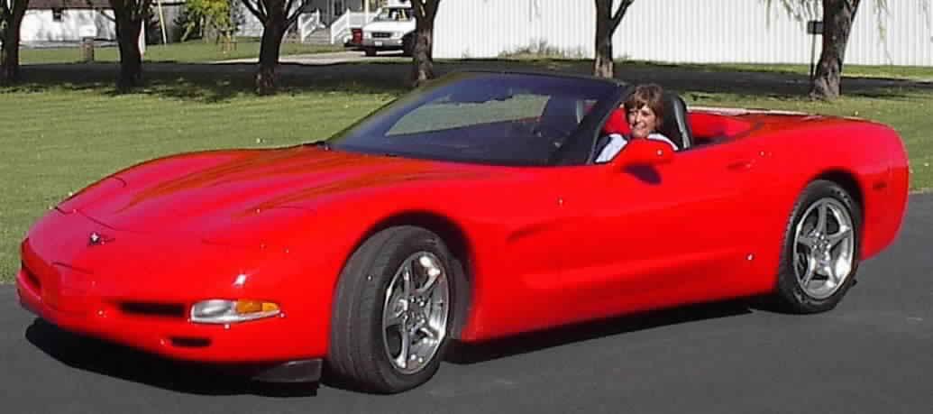 Sue - 2001 Corvette convertible