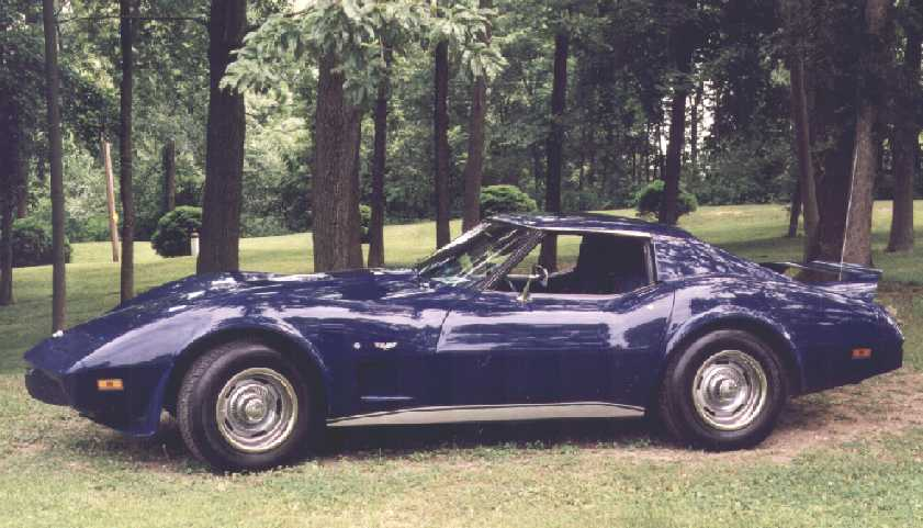 Christian - 1977 Corvette