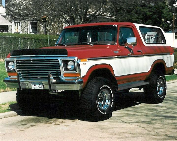 Mike (2008 Pres.) 1978 Bronco