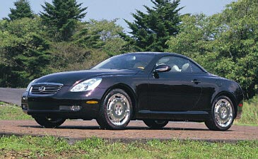 2001 Lexus Sport Coupe Convertible