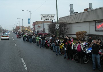 Chicagoland Toys for Tots Parade 2012