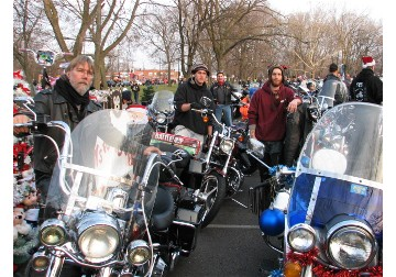 2012 Toys for Tots parade in Chicago