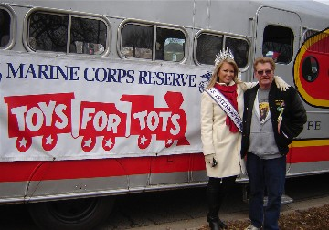 Toys for Tots parade in Chicago 2013