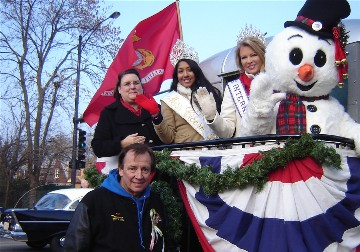 2013 Toys for Tots parade in Chicago
