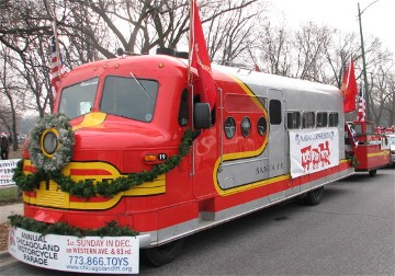 Chicagoland Toys for Tots Parade 2013