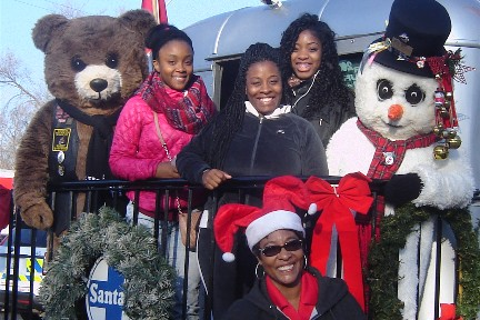 2015 Toys for Tots parade in Chicago
