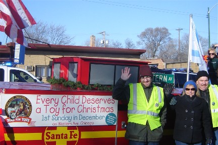 Chicagoland Toys for Tots Parade 2015