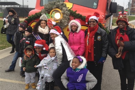 2016 Toys for Tots parade in Chicago