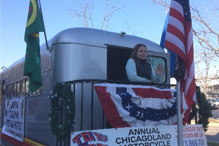 2017 Toys for Tots parade in Chicago