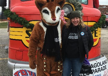 2019 Toys for Tots parade in Chicago
